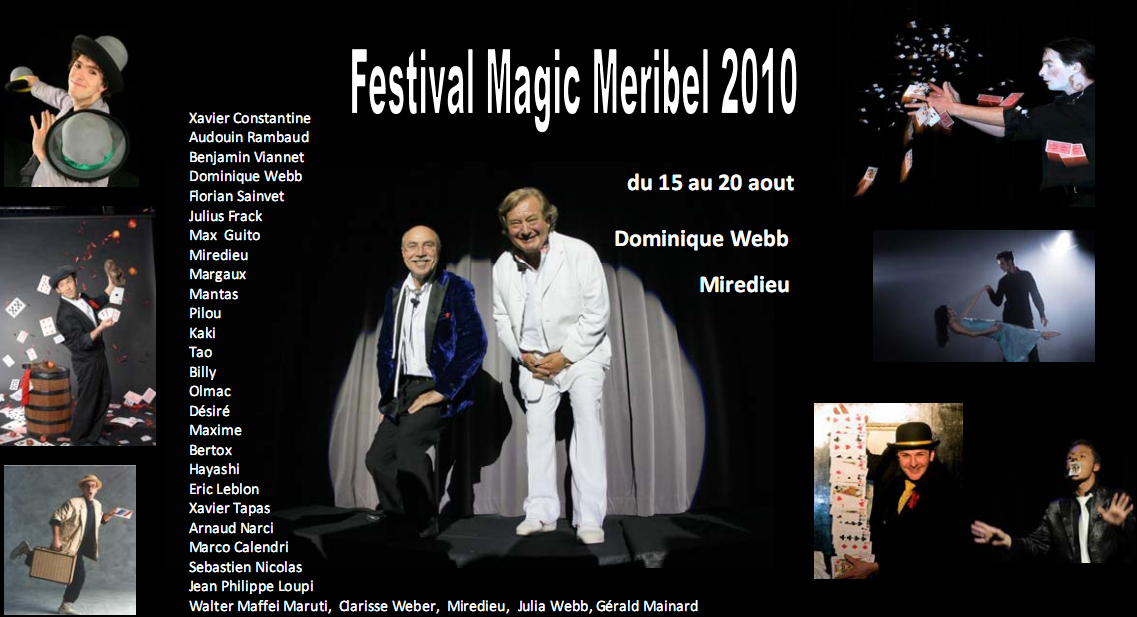Affiche Festival Magic Meribel 2010